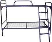 Двухъярусная кровать,  металлическая кровать для больницы