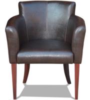 Мягкие деревянные кресла для ресторана